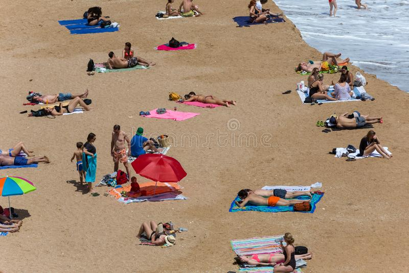 Dona Ana do Praia imagens de stock royalty free