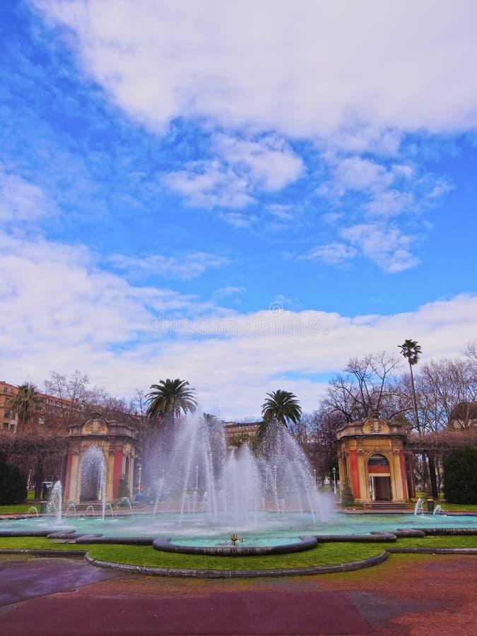 Dona Casilda de Iturrizar Парк в Бильбао стоковые фото