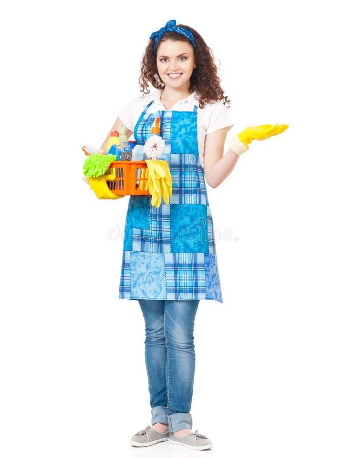 Dona de casa nova fotografia de stock