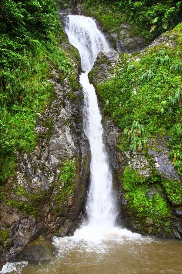 Dona Juana Falls - Puerto Rico imagen de archivo libre de regalías