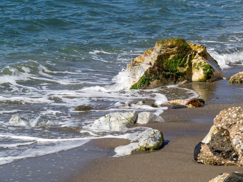 Dona Lola plaża w Calahonda Costa Del Zol obraz royalty free