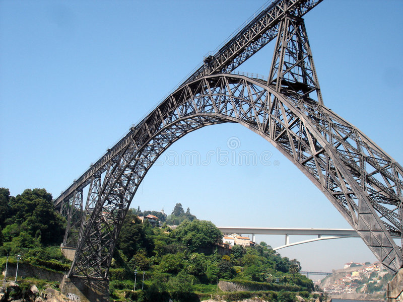 Dona Maria Bridge stockbild