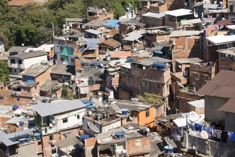 Dona Marta Slum. RIO DE JANEIRO, RJ - BRAZIL, AUGUST, 15, 2015 - Community Santa Marta, first pacified favela in the city of Rio de Janeiro, some social work is stock images