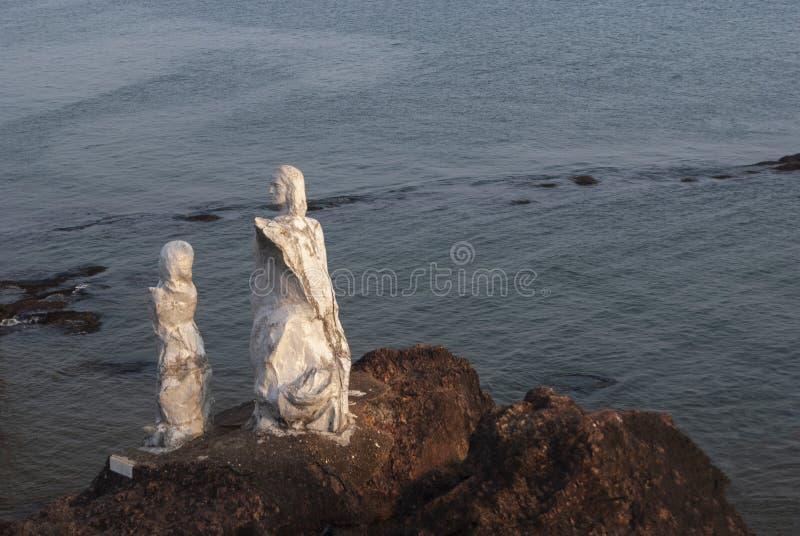 Dona Palua Statue Near Panjim, Goa foto de stock