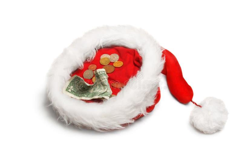 Donación 1 de la Navidad imagen de archivo