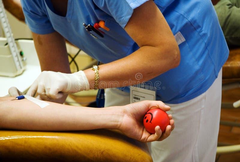 Donación de sangre imágenes de archivo libres de regalías