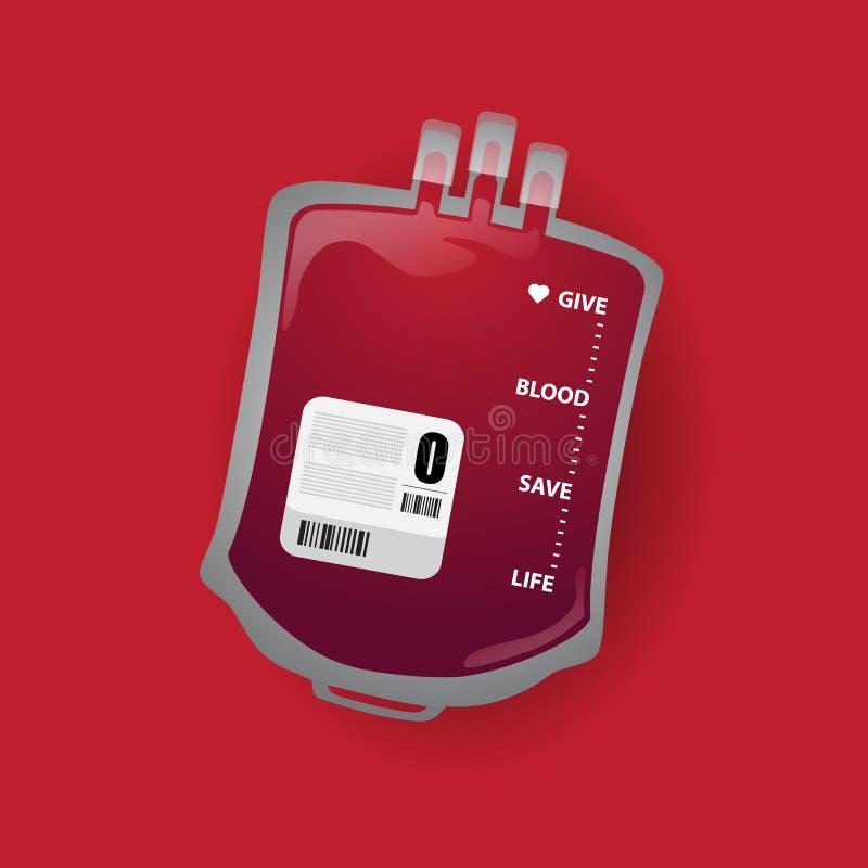 Donación del international del día del donante de sangre libre illustration