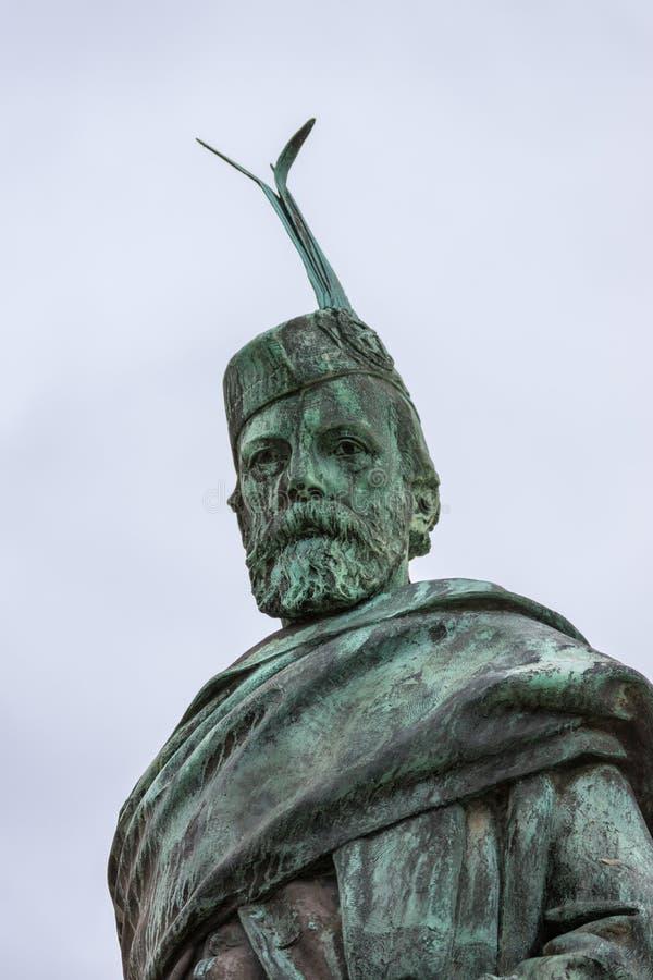 Donald Cameron του αγάλματος Lochiel, οχυρό William Σκωτία στοκ φωτογραφίες με δικαίωμα ελεύθερης χρήσης