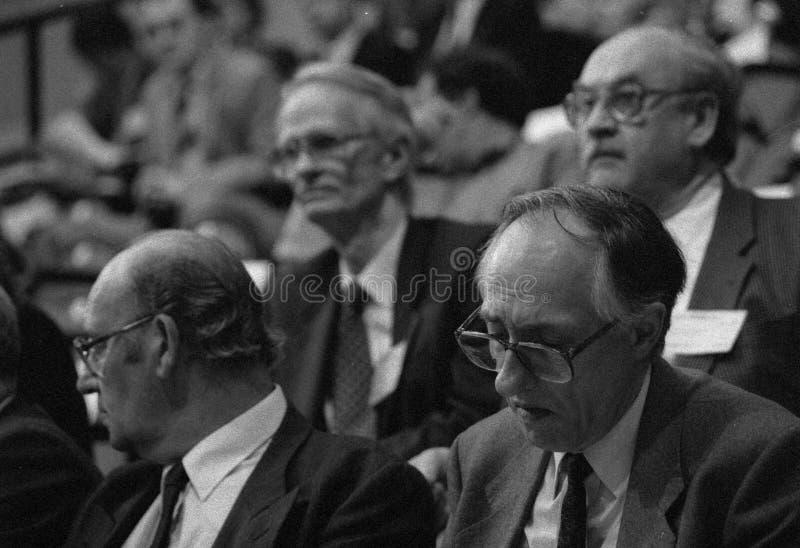 Donald Dewar członek parlamentu fotografia stock