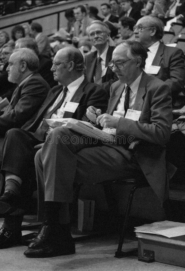 Donald Dewar członek parlamentu 1991 fotografia royalty free