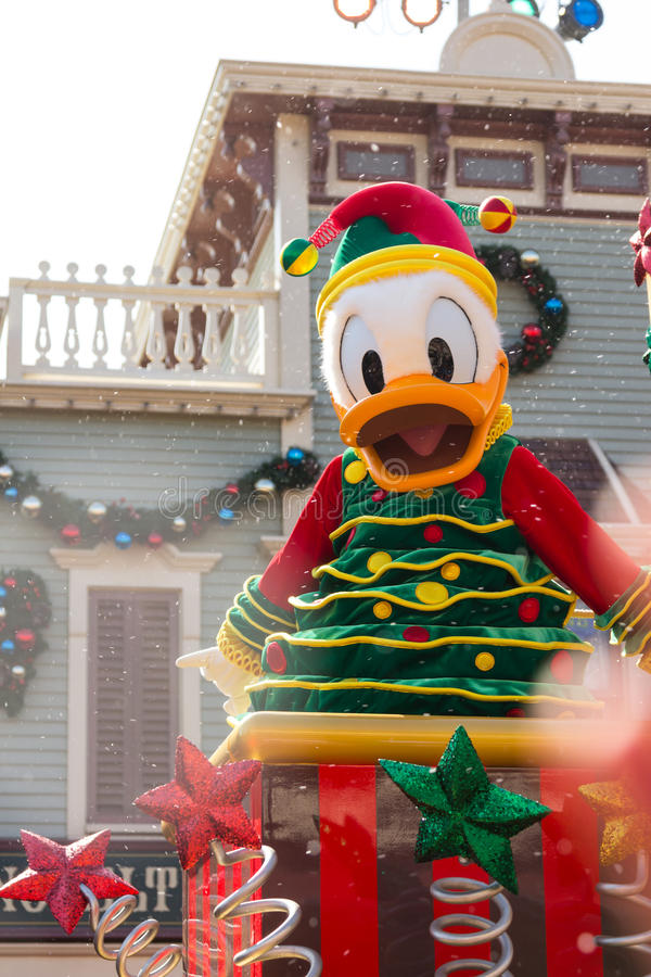 Download DONALD DUCK Celebrate Christmas New Year Editorial Photography - Image: 28563012