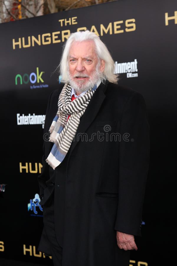 Download Donald Sutherland editorial photography. Image of games - 24893892