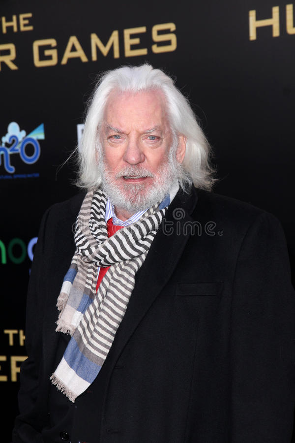 Donald Sutherland Editorial Photography