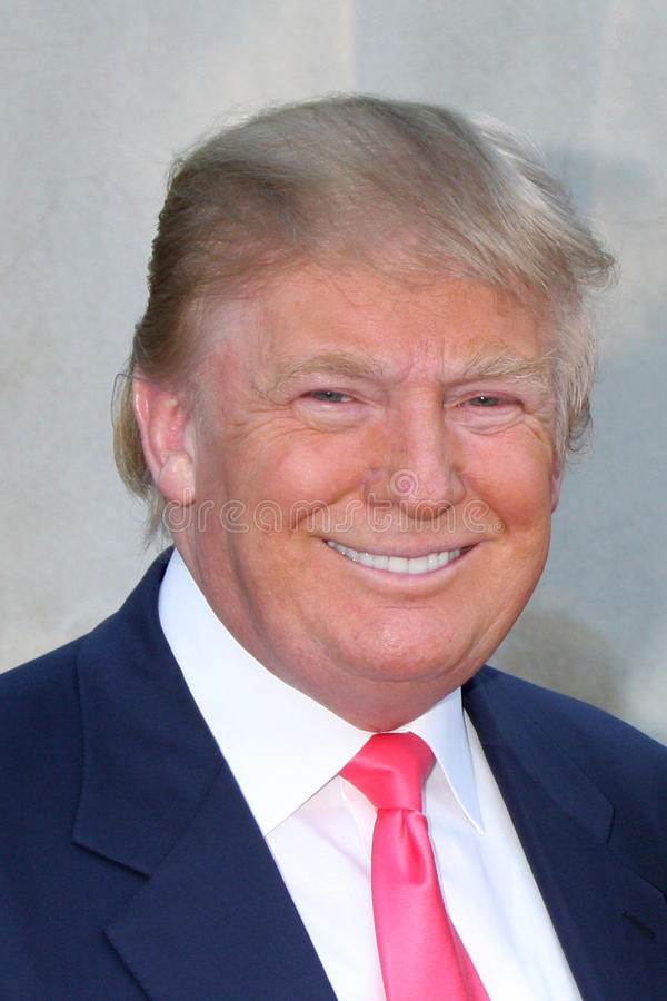 Donald Trump stock image