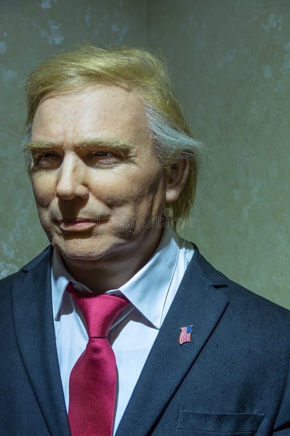 Donald Trump de la statue des Etats-Unis photo libre de droits