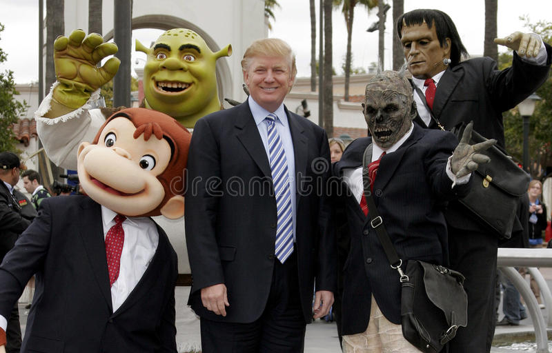 Donald Trump. 03/10/2006 - Hollywood - Donald Trump kicks off the sixth season casting call search for THE APPRENTICE held at the Universal Studios in Hollywood stock images