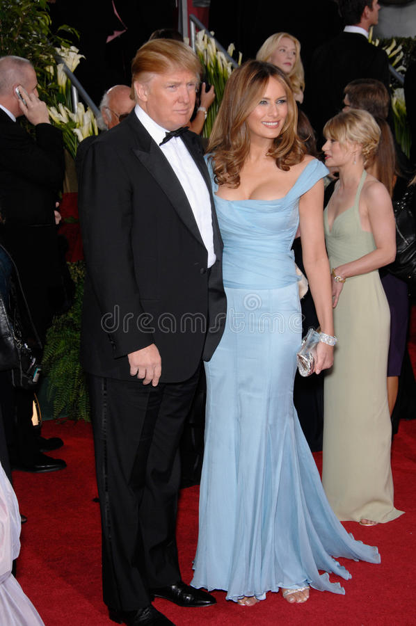 Download Donald Trump, Melania Trump Editorial Photo - Image of golden, wife: 24290411