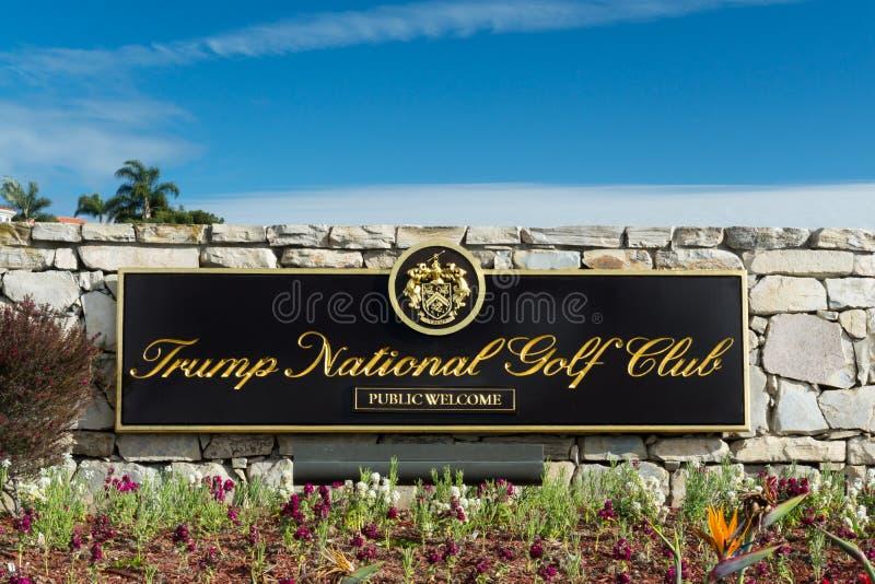 Donald Trump National Golf Club royalty free stock photo