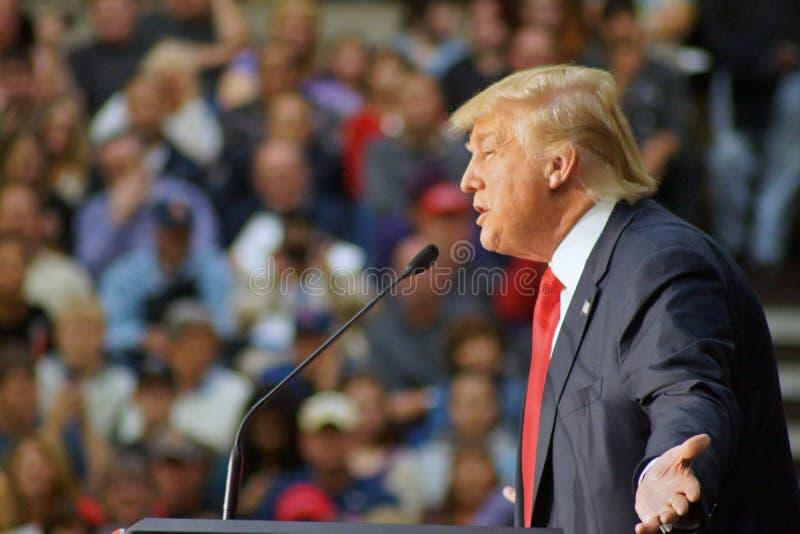 Donald Trump November 9, 2015 fotografia de stock royalty free