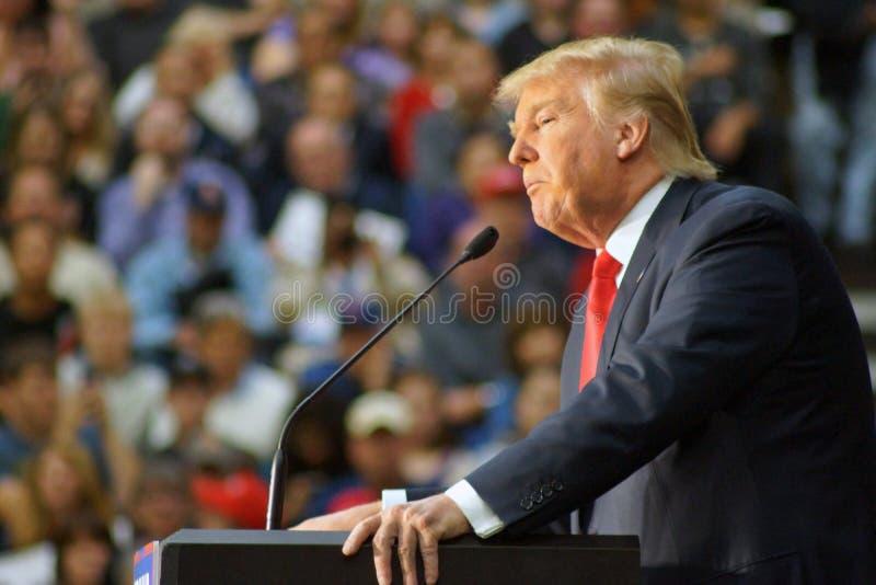 Donald Trump November 9, 2015 royalty free stock image