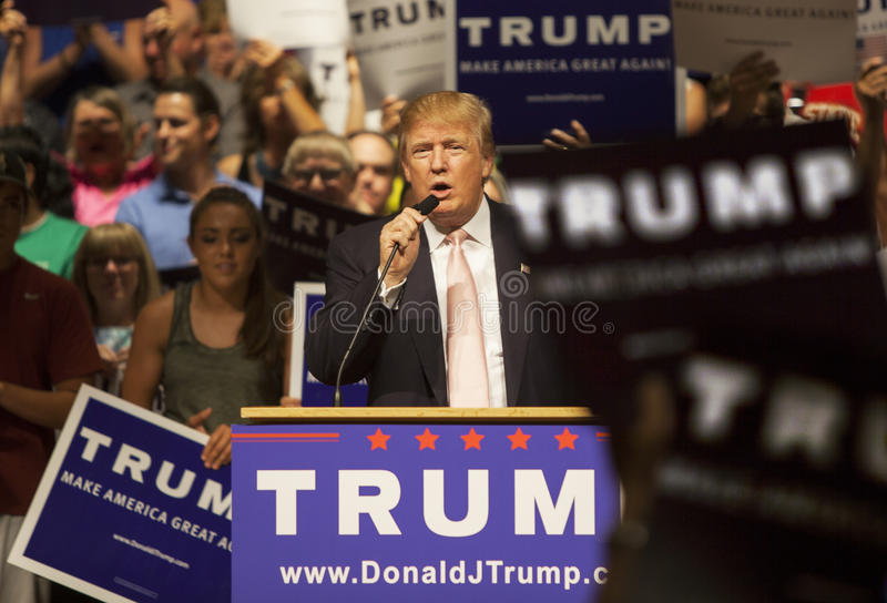 Donald Trump royalty free stock photography