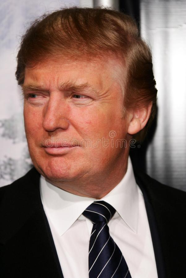 King Kong Donald Trump royaltyfri foto
