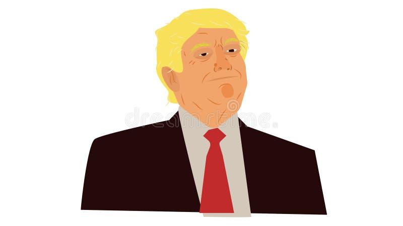Donald Trump Portrait libre illustration
