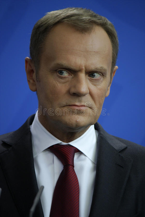 Donald Tusk stockfotos