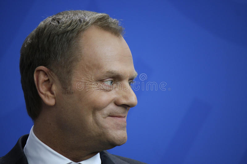 Donald Tusk stockbilder