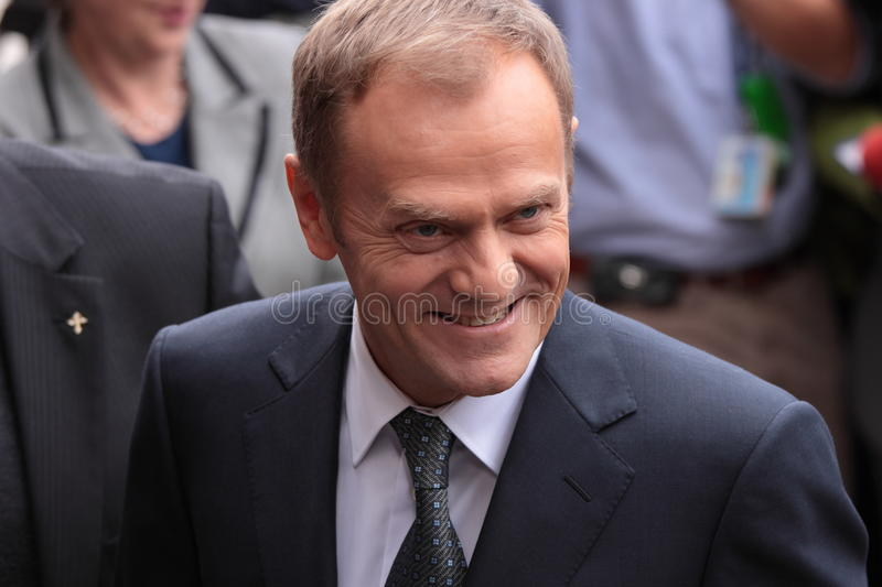Download Donald Tusk editorial stock photo. Image of obywatelska - 9675638