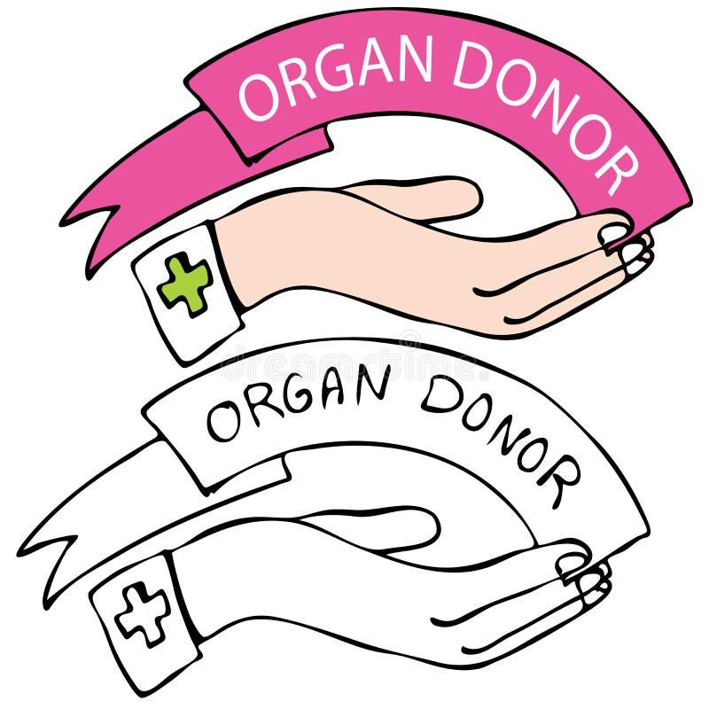 Donante de órgano libre illustration