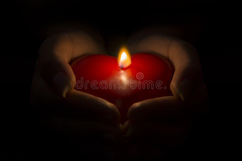 Donante de mi corazón llameante imagen de archivo libre de regalías