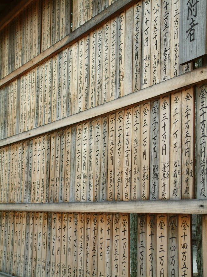 Donantes del templo fotos de archivo libres de regalías