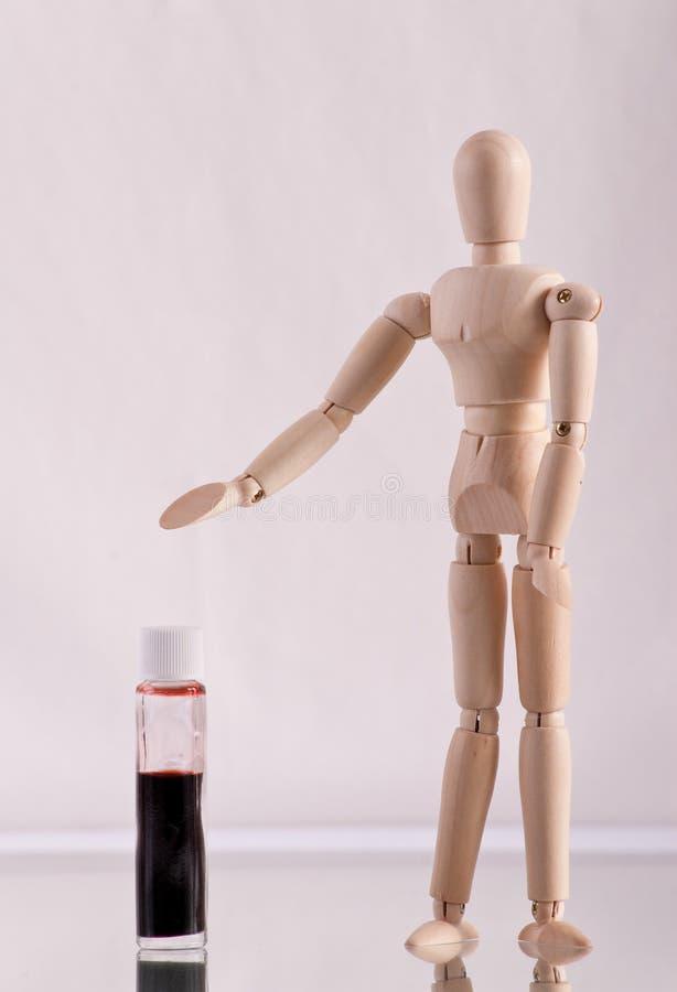 Donar concepto de la sangre foto de archivo