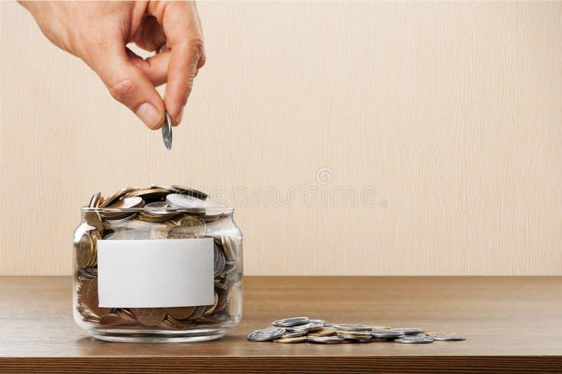 Donate. Money assistance bank cash change coin stock photos