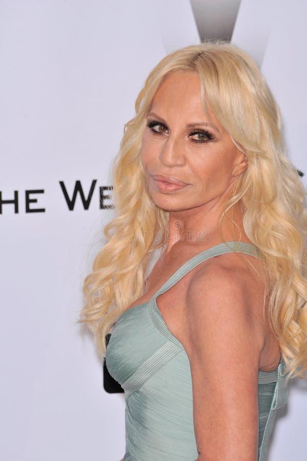 Donatella Versace imagens de stock royalty free