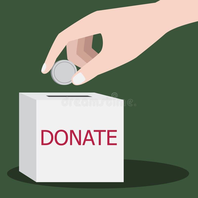 donation illustration libre de droits