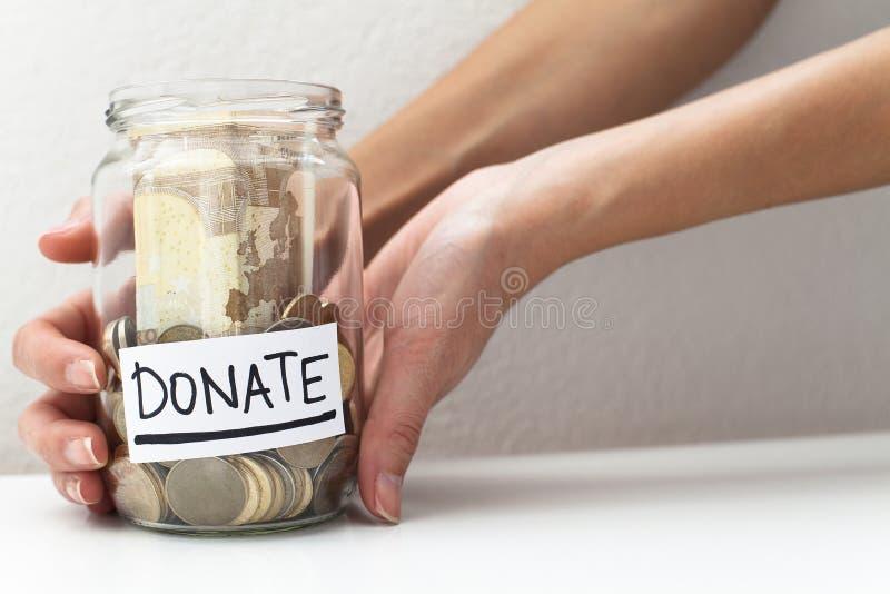 Donation stock photography