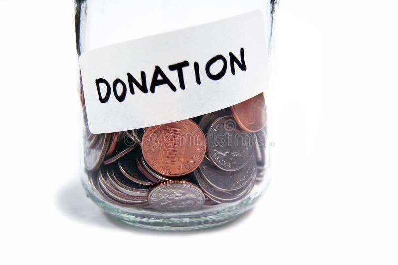 donation1 royaltyfria bilder