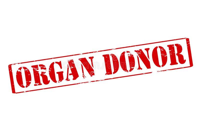 Donatore di organo royalty illustrazione gratis