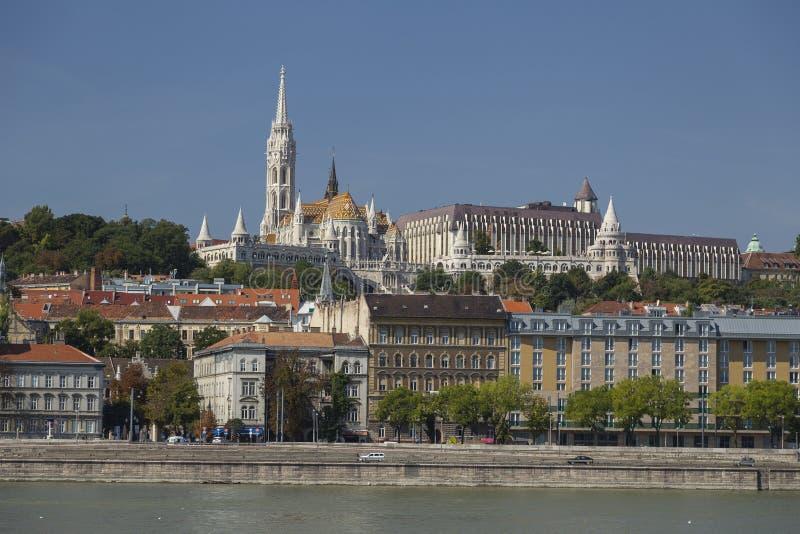 Donau-Ansicht in Budapest lizenzfreie stockfotos