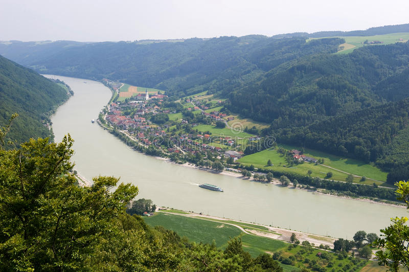 Donau river stock photography