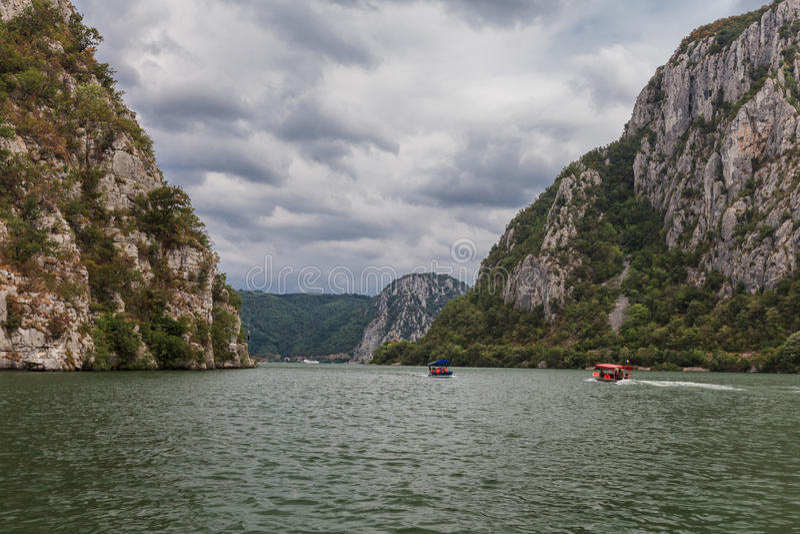 Donauklyftorna arkivfoton