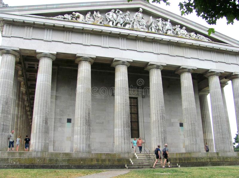 Marble busts inside the Walhalla memorial above the Danube ... |Inside Walhalla Memorial