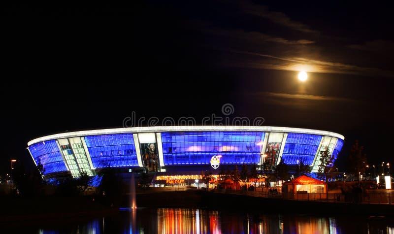 DONBASS-ARENA,顿涅茨克,乌克兰- 9月25 免版税库存图片