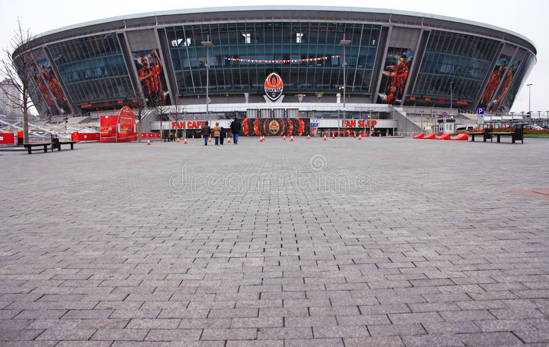 Donbass Arena - Football Stadium Editorial Stock Image