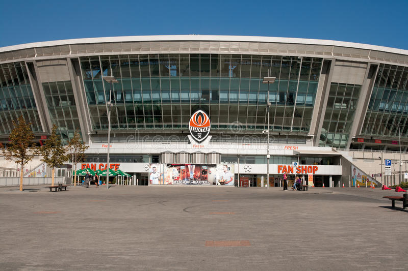 Download Donbass Arena: Ready For EURO 2012 Editorial Photography - Image of championship, competition: 17042787