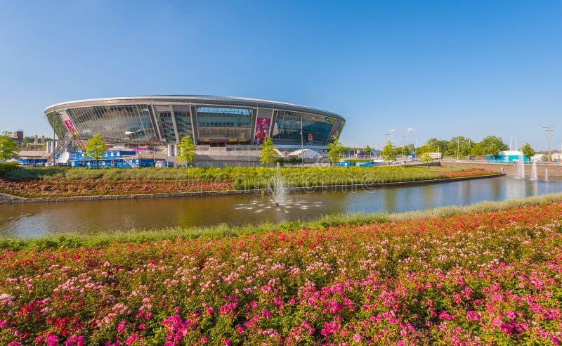 Donbass Arena Stadium Editorial Photography