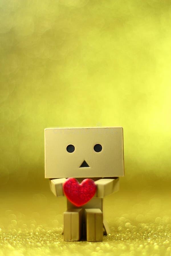 Donbo kocha ciebie zdjęcie royalty free