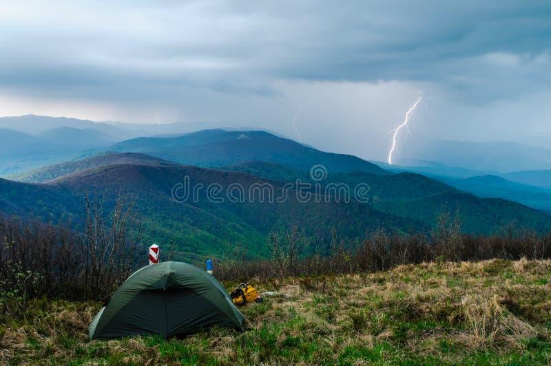 Donder in Tatras II stock afbeelding